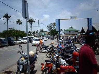 De markt in Nieuw-Nickerie