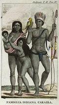 De oorspronkelijke inwoners van Suriname.