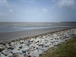 De Zeedijk in Nieuw-Nickerie