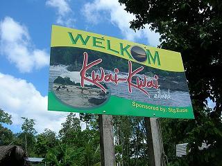Welkom op Kwai-Kwai eiland